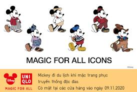 Uniqlo Vietnam - CÙNG CHUỘT MICKEY KHÁM PHÁ THẾ QUA BỘ SƯU...