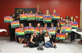 painting with a twist the woodlands