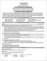 Entry Level Mechanical Engineering Resume Nppusa Org