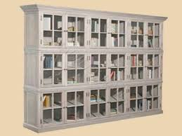shallow bookcase with doors the super nice solid wood bookcases