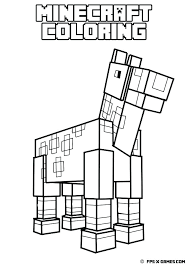 Minecraft Mutant Creeper Coloring Pages Alex Photo