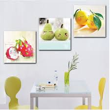 happy fruit 3 hot modern kitchen wall painting home decorative art picture paint on canvas