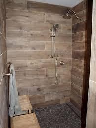 bathroom wood floor tile walls selected wood look tile bathroom nmedia of bathroom wood