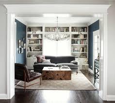 park and oak design beige decor dark blue walls classic den