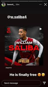 Namun, keduanya punya nasib berbeda bersama arsenal dan leicester city. William Saliba Finally Free From Arsenal Says Leicester S Wesley Fofana As Defender Completes Loan Move To Nice