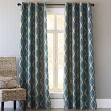 Teal Bedroom Curtains Moorish Tile Curtain Teal Pier 1 Imports Home Bedroom