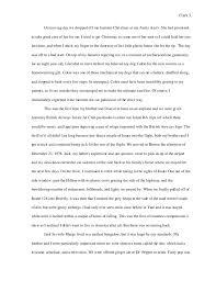 m clark college writing seminar visual narrative essay final 3