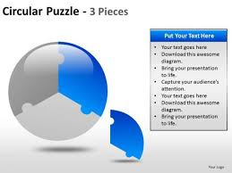 One Third Of A Pie Chart One Third Pie Chart Powerpoint Slides And Ppt Templates