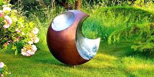 modern outdoor garden sculpture sculptures mother with child contemporary and ornaments