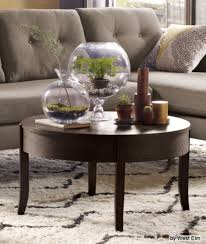 fantastic decorating a round coffee table with magnificent round coffee table decor best ideas about round