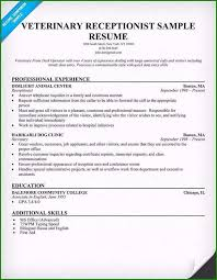 Reception Resume Well Designed Receptionist Resume Examples You Need To Consider