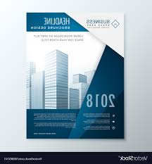 Unique Business Plan Cover Page Design Vector Images Free Vector