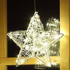 Weihnachtsstern 28 Cm 60 Led Draht Stern Weihnachten Blinkend