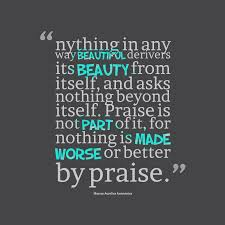 Beauty Praising Quotes
