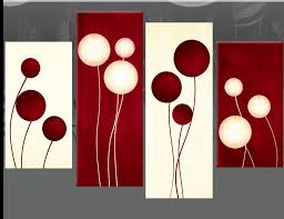 wall art red