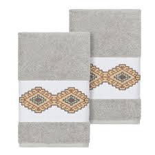 Light Gray Hand Towels Desert Paradise Light Gray Hand Towel Set Pier 1