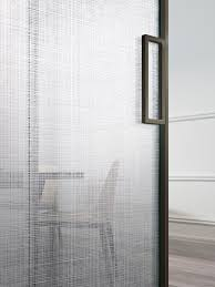 sliding door handle glass door stainless steel minimalist design