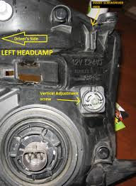 Headlight Adjustment Equinox - Chevrolet Forum - Chevy Enthusiasts ...
