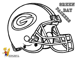 nfl coloring pages 8