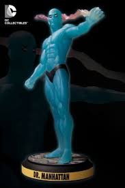17 best images about watchmen trap music the dc collectibles before watchmen dr manhattan statue