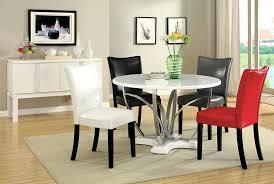 modern dinner table set modern round dining room table for fine modern round dining table set