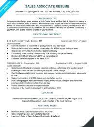 Sample Resume Retail Sales Englishor Com