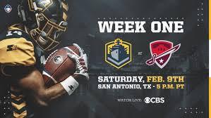 San Antonio Commanders Vs San Diego Fleet Week 1 Preview