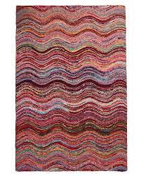 alaca waves hand tufted carpet