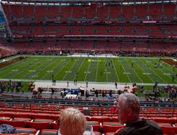 Cleveland Browns Stadium Seating Chart View Firstenergy Stadium Section 334 Seat Views Seatgeek