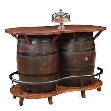 2 barrel bar table
