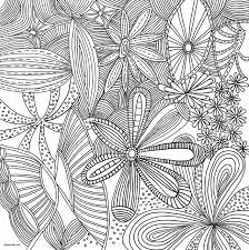 Adult Coloring Book Pdf Cool Stock Flowers Abstract Coloring Pages