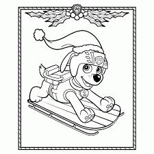 Paw Patrol Kleurplaten Leuk Voor Kids Beste Paw Patrol Kerst20