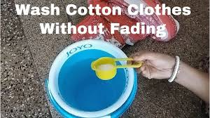 How To Wash Cotton Clothes To Avoid Fading II How To Preserve How To Wash Colors Without Fading