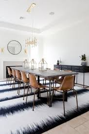 extra long dining room table leather house chairs and br chandelier