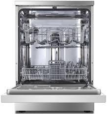 Small Dish Washer Haier Hdw13g1x Freestanding Dishwasher Appliances Online