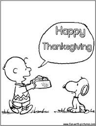 Small Picture Happy Thanksgiving Charlie Brown Coloring Page Coloring Coloring