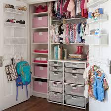 white elfa classic kid s closet with drawer units
