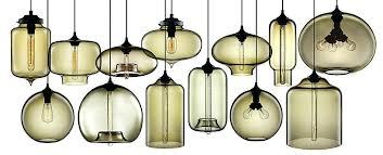 hand blown glass pendant lights deign hand blown glass pendant lights canada