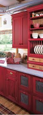 cosy kitchen hutch cabinets marvelous inspiration. Beautiful Kitchen A Cozy Red Might Make The Space Feel Really Warm And Inviting Since Itu0027s  Not Huge EtsycomshopMergeTextiles And Cosy Kitchen Hutch Cabinets Marvelous Inspiration S