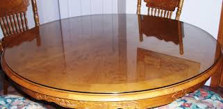 roound table top glass