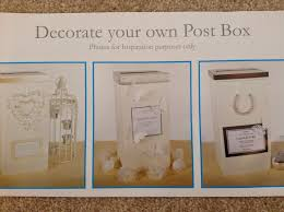 How To Decorate A Wedding Post Box Strawberry Sundaes Wedding Planning part 100 Decorations 74