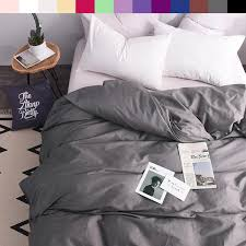 2019 custom duvet cover 1 persons quilts covers king queen double 600tc pure cotton luxury bedding nordic 150 200 140 200 gray from aurorl 80 21 dhgate