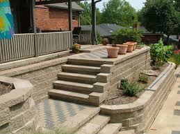 Small Picture Retaining Wall Design to Create Beautiful Natural Landscaping Idea