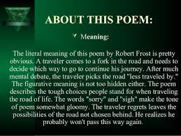 critical essay on the road not taken by robert frost custom paper  critical essay on the road not taken by robert frost the road not taken english literature