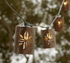 punched tin lighting fixtures. punched tin string lights lighting fixtures
