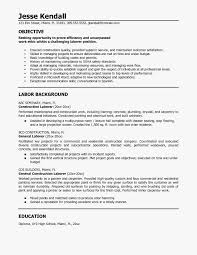 Construction Laborer Resume Sample Laborer Resume Example Customdraperies 4