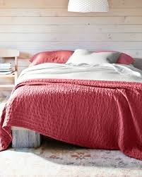 eileen fisher bedding view in gallery fisher organic cotton coverlet red eileen fisher home bedding basics