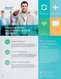 marketing slick template new business flyer sample zaxa tk