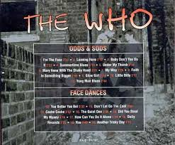 Image result for The Who pictures  face dances