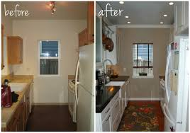 Kitchen Renovation Diy Kitchen Before And After Before And After Remodel Great Small